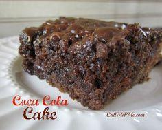Chocolate Coca-Cola Cake / Call Me PMc - Call Me PMc
