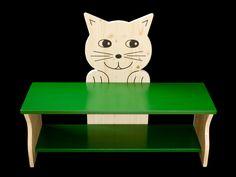Kinderbank Katze | KANAHOLZ