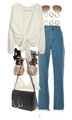 """Untitled #10245"" by nikka-phillips ❤ liked on Polyvore featuring ALDO, Ray-Ban, Chloé, Miu Miu, Eberjey and Free Press"