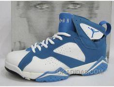 AIR JORDAN RETRO 7 BLUE WHITE ACHAT PAS CHER Only $69.00 , Free Shipping!