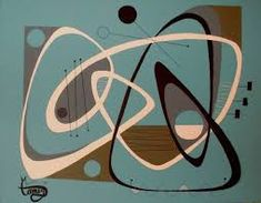 Image result for mid century art