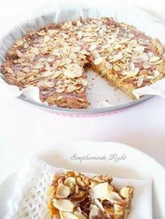 Crostata di grano saraceno con marmellata di limone