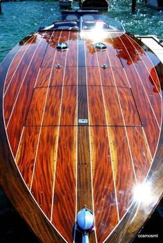 Are you ready to build your own boat? If you are looking forward to many joyful days of being outdoors, watching hard work and care turn into a fine boat you'll spend even more joyful days in, now is a good time to give it a try. Yacht Design, Boat Design, Boat Crafts, Water Crafts, Cool Boats, Small Boats, Yacht Boat, Pontoon Boat, Wooden Speed Boats