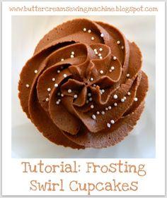 Tutorial: Frosting Swirl Cupcakes