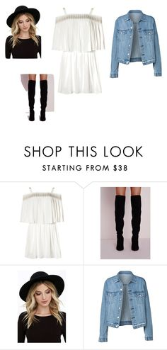 """Chhhiiiiiic"" by aichamedjedel on Polyvore featuring mode et RHYTHM"