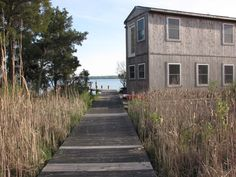 A small, off-grid home on the Patuxent River in Southern, Maryland. Small Houses, Maryland, Cabins, Grid, Southern, River, Outdoor Decor, Home Decor, Little Houses