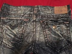 Guaranteed Authentic Men Ricky Super-T True Religion Jeans from SaksOff5th.com…