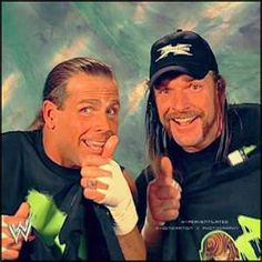 Shawn Michaels & Triple H Watch Wrestling, Wrestling Stars, Wrestling Wwe, Degeneration X, The Heartbreak Kid, Wwe Raw And Smackdown, Celebrities With Cats, Stephanie Mcmahon, Shawn Michaels