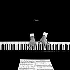 """Play"" Benoit Courti - Deep Black"