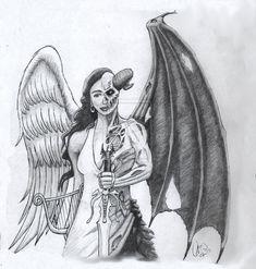 Angel-and-Devil-Tattoo6.jpg (1024×1076)