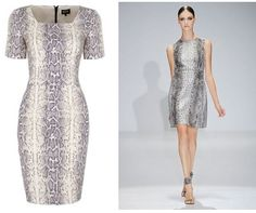 Get the Gucci snakeskin dress on the highstreet, M to be precise Snake Skin Dress, Ordinary Girls, Dresses For Work, Formal Dresses, Erotic, Stylists, Spring Summer, Celebrities, Coat