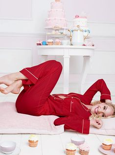 This is Me...I live in a sugar coated world...NOT but I do love sweets, these red pajamas and I live in my P.J.'s a lot. lol