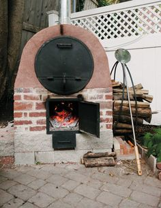 From Beehive to Barrel: A Tale of Two Ovens Wood Oven, Wood Fired Oven, Pizza Oven Outdoor, Outdoor Cooking, Masonry Oven, Brick Grill, Oven Diy, Oven Design, Bread Oven
