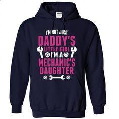 Not Just Daddy Little Girl Im A Mechanic Daughter - #sweatshirt #t shirt designer. SIMILAR ITEMS => https://www.sunfrog.com/LifeStyle/Not-Just-Daddy-Little-Girl-Im-A-Mechanic-Daughter-8946-NavyBlue-Hoodie.html?60505
