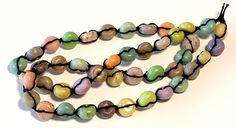 "Faux stone beads are an interesting way to preserve dried flowers given or bought on special occasions-- births, weddings, romantic dates, anniversaries, graduations, ""coming of age"" parties, prom nights, or (on a sadder note) funerals."
