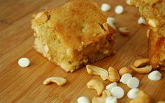 Blondie: aprenda a fazer brownie branco light e funcional
