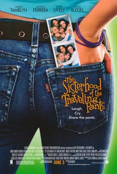 """The Sisterhood of the Traveling Pants......I read this book & I just fell in love with the idea of the """"traveling pants""""..........."""
