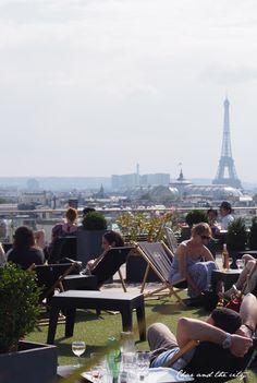 The best view in Paris - Printemps rooftop terrace