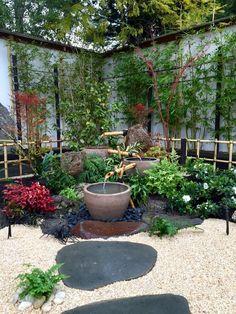 Kleinen Japanischen Garten Anlegen Tipps Ideen Wichtige Merkmale #garden  #ideas Japanese Garden Design,