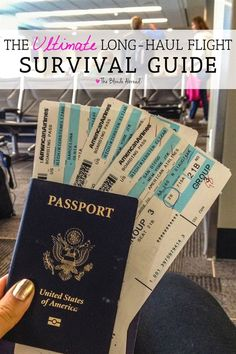 For anyone feeling intimidated by a 10+ hour flight, my survival guide for long-haul flights will get you through your flight and feeling like a champion.  #TravelTips