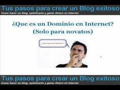 ¿Que es un Dominio en Internet? - YouTube
