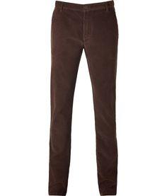 Chocolate Corduroy Pants