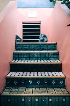Originales y divertidas escaleras. - Imagen de inspiración.