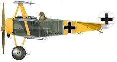 Jasta 27 ~ Fokker Dr.I ~ of an unknown pilot flying from Halluin-Ost in May 1918