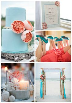 Top-wedding-color-combinations-coral-and-turquoise