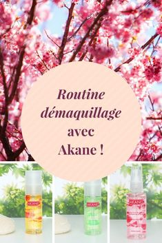 A spring cleansing routine with Akane! Deodorant, Lotion, Routine, Table Decorations, Spring, Green, Blog, Body Makeup, Organic Makeup