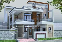 Dream house design dream house design house dream house designs dream house design dream home design Indian Home Design, Kerala House Design, House Front Design, House Design Photos, Modern House Design, Dream House Plans, Modern House Plans, Style At Home, Contemporary Stairs