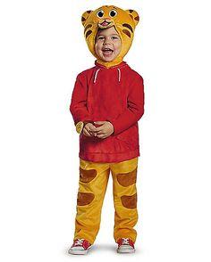 Toddler Daniel Tiger Costume Deluxe - Daniel Tiger's Neighborhood - Spirithalloween.com
