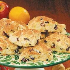 """Cranberry Buttermilk Scones Recipe -In Bend, Oregon, Loraine Meyer bakes these light, fluffy scones that are loaded with dried cranberries and topped with cinnamon-sugar. """"I take them to breakfast meetings, serve them at brunches, and share them with neighbors and friends,"""" she says."""