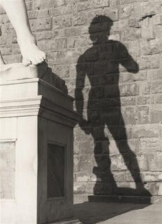 Vincenzo Balocchi, Shadow of David by Michelangelo, 1960