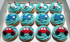 Planes, Trains and Automobiles | Little Star Cupcakes