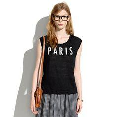 Women's New Arrival Tees & Tanks : Sleeveless & V-neck | Madewell.com