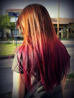 pink ombre hair | Tumblr