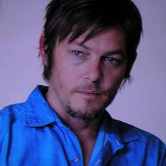 Norman Reedus from Hello Herman. Just beautiful. The man makes it hard to breath! Love his eyes in this pic. Daryl Dixon, Tom Payne, Fear The Walking Dead, Celebs, Celebrities, Norman Reedus, Good Looking Men, Perfect Man, Look Cool