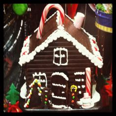 casita de chocolate #navidad #christmas