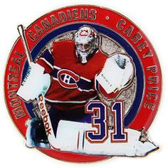 Montreal Canadiens Carey Price Photo Pin Hockey Girls, Hockey Mom, Ice Hockey, Montreal Canadiens, Goalie Mask, Pittsburgh Penguins Hockey, The Ch, National Hockey League, Toronto Maple Leafs