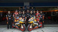 #motogp2014 NGM Forward Racing Team (Yamaha) Colin Edwards #5 e Aleix Espargaro #41