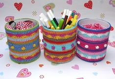 Tin cans are way too bad to throw away … Since we have a can opener, which opens the edges of the can blurred (w … Source by Textiles, Sweater Knitting Patterns, Cloak, Needle And Thread, Deco, Can Opener, Diy For Kids, Hand Sewing, Recycling