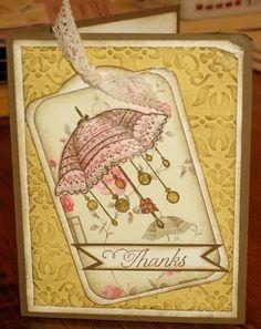 Thanks-Rue Des Fleurs Stamp Set