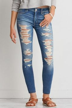 // new jeans Winter Outfits, Casual Outfits, Summer Outfits, Cute Outfits, Fashion Outfits, Trendy Fashion, American Eagle Outfits, American Eagle Jeans, American Eagle Outfitters Jeans