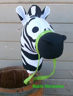 """Sheriff's Posse Collection Stick Horse """"Elvis"""" by RusticHorseShoe"""