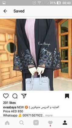 Niqab Fashion, Xl Fashion, Modest Fashion, Hijab Niqab, Mode Hijab, Hijab Dress, Hijab Outfit, Black Abaya, Hijab Style