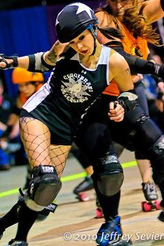 I really should have been a roller derby girl.