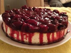 Low Carb Cherry CheeseCake