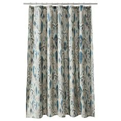 Threshold™ Ikat Mix Shower Curtain