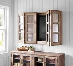 Storage Furniture Mirror Cabinet Media Solution